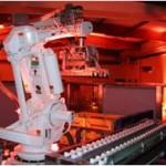 Eclairage pour une mise en valeur d'outil de production