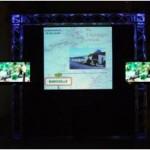 Ecran géant et LCD sur structure alu avec éclairage Led