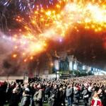 Spectacle pyrotechnique habits de lumière à Epernay, 30 000 personnes